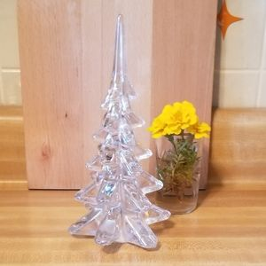 Irredescent Glass Christmas Tree